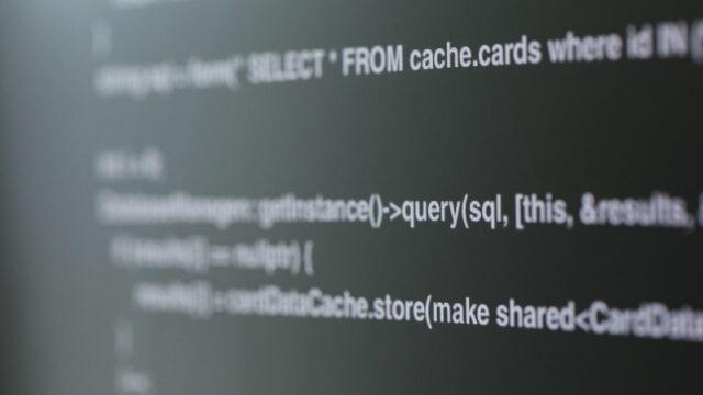 プログラミングソースコード