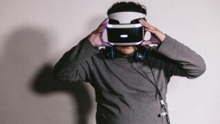 OculusQuest2を装着